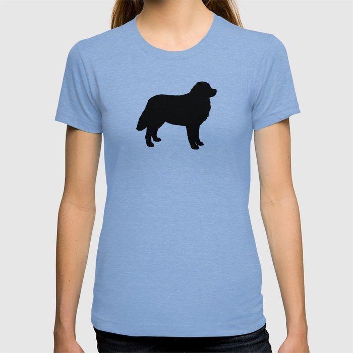 Bernese Mountain Dog Silhouette(s) T-shirt