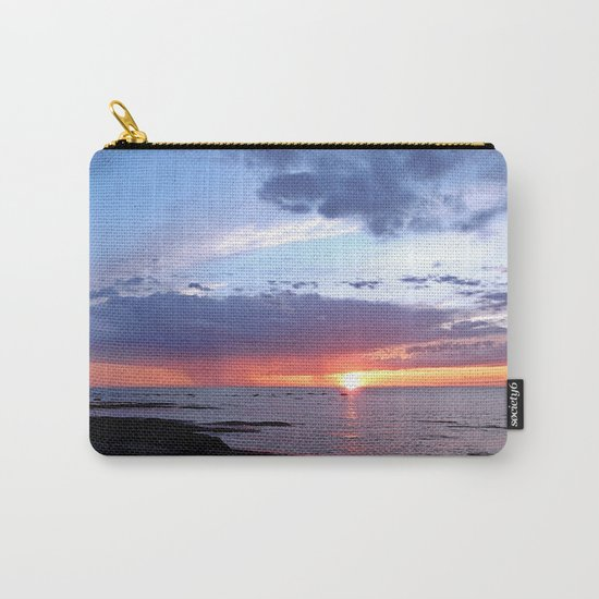 Sunset Rain Cloud Carry-All Pouch