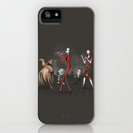 Thriller before Christmas iPhone Case