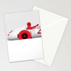 Juan Manuel Fangio, Mercedes W196, 1955 Stationery Cards