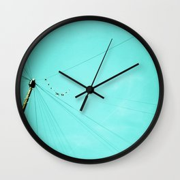 Wire Wall Clock