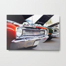 60's Muscle Cars Metal Print
