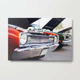 60's Muscle Cars Metal Print