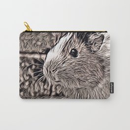 Rustic Style - Guinea PIg Carry-All Pouch