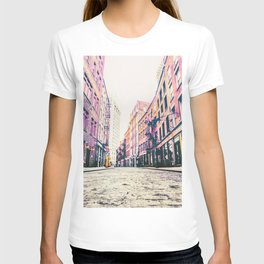 Stone Street - Financial District - New York City T-shirt