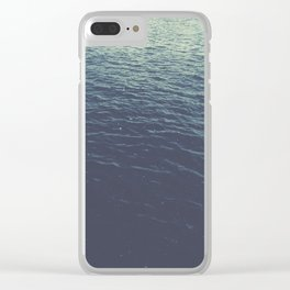 On the Sea Clear iPhone Case