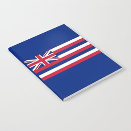 Hawaiian Flag, Official color & scale Notebook