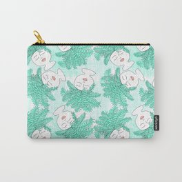 Fern-tastic Girls in Teal Carry-All Pouch