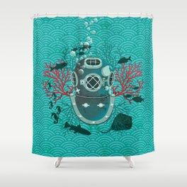 Deep Dive Shower Curtain