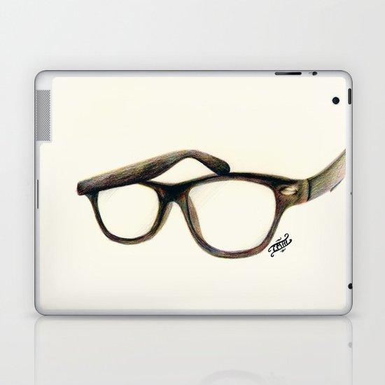 Hipster's Paradox Laptop & iPad Skin