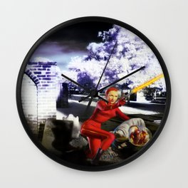 Plan X From Outer Space Wall Clock