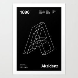 Sans Serif Vol. ¹ – Akzidenz Art Print