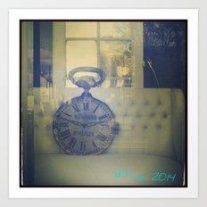 #Time Art Print