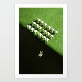 From Odd to Even Art Print