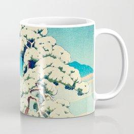 A Morning in the Snow Coffee Mug