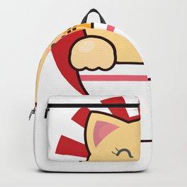 Kawaii Japanese Anime Cat print Gift Ramen Noodle Gift product Backpack