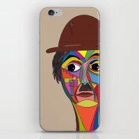 charlie chaplin iPhone & iPod Skins featuring Charlie Chaplin by JeeArt