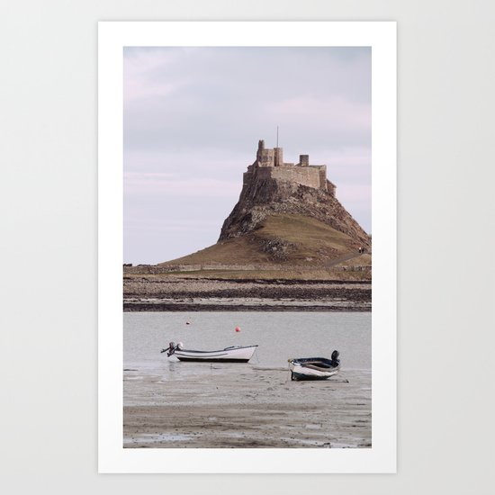 castles made of sand... Art Print