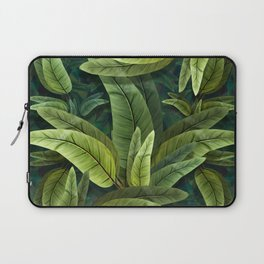 """Retro Tropical Tiki Fantasy 02"" Laptop Sleeve"