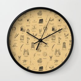The Wizarding ABC Wall Clock