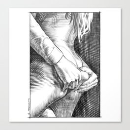 Touch 0387 Canvas Print