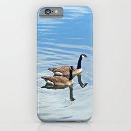 Enjoying a Swim iPhone Case