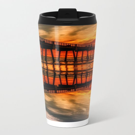 from the earth to the sky Metal Travel Mug
