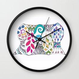 5 fish Wall Clock