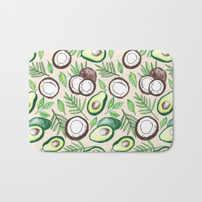 Coconuts & Avocados Bath Mat