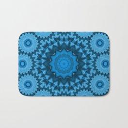 Kaleidoscope blue is good 03 Bath Mat