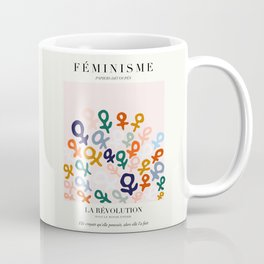 L'ART DU FÉMINISME Coffee Mug