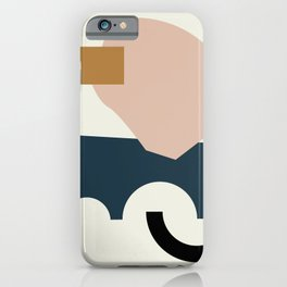 Shape Study #29 - Lola Collection iPhone Case