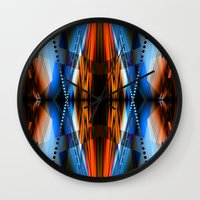 navajo Wall Clocks featuring Navajo by Robin Curtiss