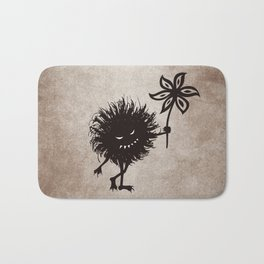 Evil Bug Gives Flower Bath Mat
