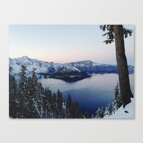 Crater Lake Canvas Print