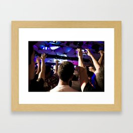 Live in LA Framed Art Print