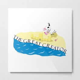 The Creator Metal Print