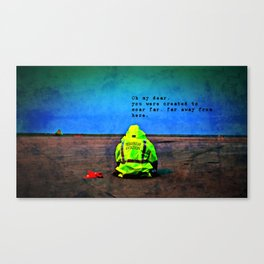 Just Getting By Canvas Print