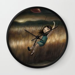 Anywhere But Here Wall Clock