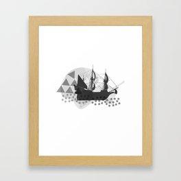Ahoy Framed Art Print