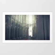 Zelda Cathedral #2 Art Print