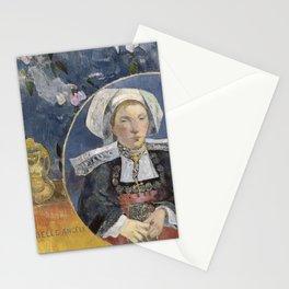 La Belle Angele by Paul Gauguin Stationery Cards