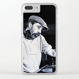 ANDREW WEATHERALL Clear iPhone Case