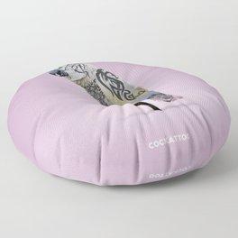Cockattoo Floor Pillow