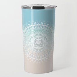Beach Style Mandala Travel Mug