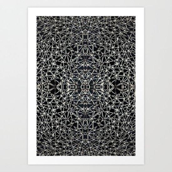 Spiderised  Art Print