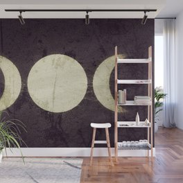 Triple Moon Goddess Wall Mural