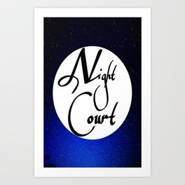 Night Court Art Print