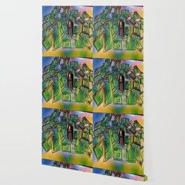Fake stacks Wallpaper