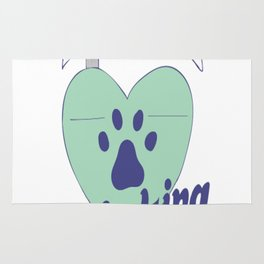 Dogs Unlocking Hearts Since The Beginning of time Rug